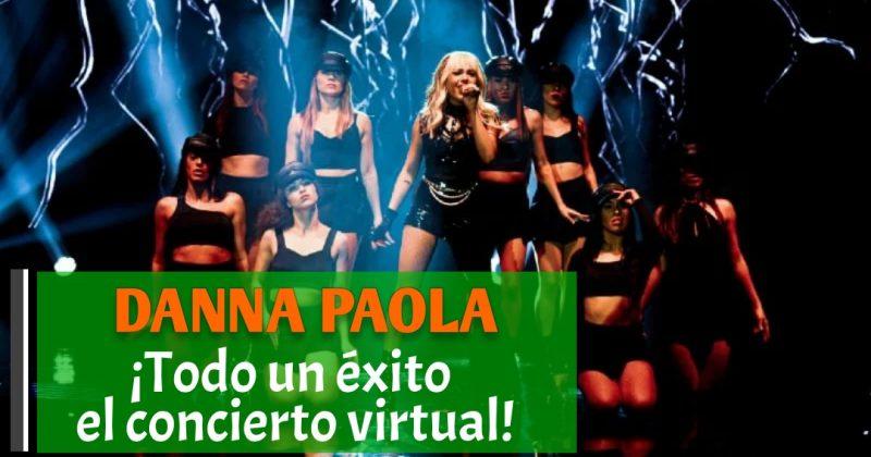 Gran Concierto virtual de Danna Paola