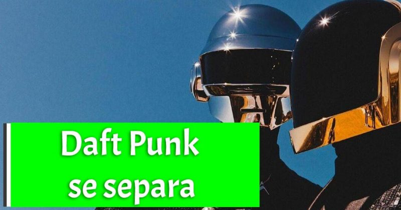 Tras 28 años de carrera Daft Punk se separa