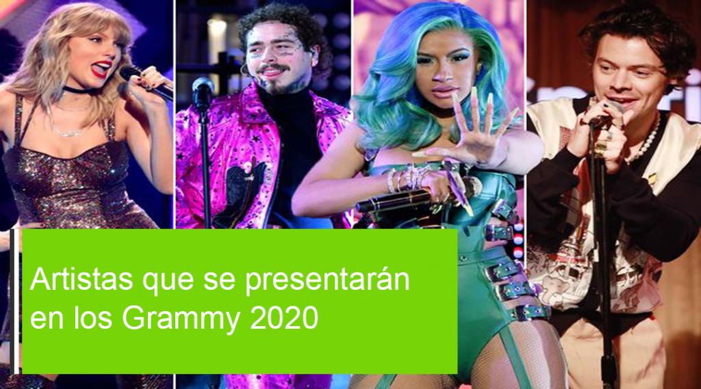 Estos son los artistas que se presentarán en los Grammy 2021