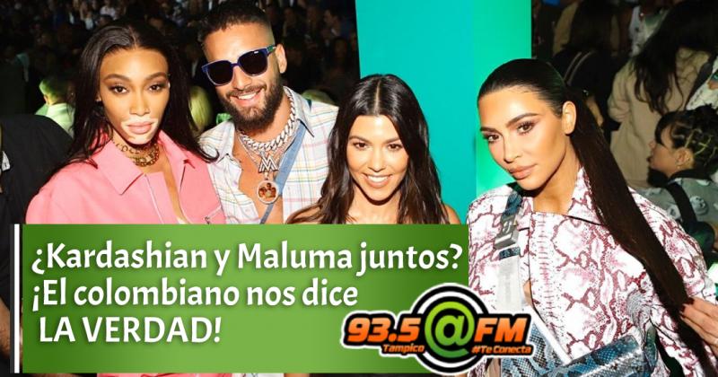 ¿Kardashian y Maluma juntos? ¡El colombiano nos dice la verdad!